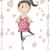 incinta · ragazza · vettore · cartoon · illustrazione - foto d'archivio © nicoletaionescu