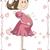 妊婦 · ベクトル · 漫画 · 小さな · かわいい · レイアウト - ストックフォト © nicoletaionescu
