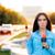 женщины · Новости · репортер · области · движения · женщину - Сток-фото © nicoletaionescu
