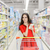Woman whit Shopping List at The Supermarket stock photo © NicoletaIonescu