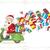 alegre · Navidad · rápido · entrega · presenta - foto stock © nicoletaionescu