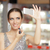 winkelen · cosmetica · glimlachende · vrouw · supermarkt - stockfoto © nicoletaionescu