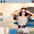 boldog · nyár · nő · napszemüveg · medence · portré - stock fotó © NicoletaIonescu
