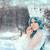 雪 · クイーン · 冬 · ファンタジー · 風景 · 美しい - ストックフォト © nicoletaionescu