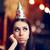 triste · entediado · mulher · festa · não · diversão - foto stock © NicoletaIonescu