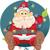 смешные · Рождества · фары · вектора · Дед · Мороз - Сток-фото © NicoletaIonescu