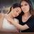 megnyugtató · barát · nő · szomorú · kéz · váll - stock fotó © nicoletaionescu