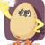 karikatür · civciv · yumurta · Paskalya · doku · el - stok fotoğraf © nicoletaionescu