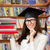 happy student with graduation cap holding books stock photo © nicoletaionescu