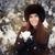 красивая · женщина · зима · шуба · ретро · портрет · рук - Сток-фото © nicoletaionescu