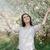 manzara · yeşil · alan · sarı · çiçekler · mavi · gökyüzü · büyük - stok fotoğraf © nicoletaionescu