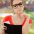 печально · женщину · ресторан · законопроект · красивая · девушка · чувство - Сток-фото © NicoletaIonescu