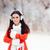 счастливым · зима · девушки · наушники · ПК · таблетка - Сток-фото © NicoletaIonescu