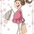 характер · карт · вектора · дизайна · Cartoon · беременна - Сток-фото © nicoletaionescu