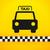taxi · symbole · jaune · noir · silhouette - photo stock © nikdoorg