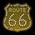 illuminated route 66 sign stock photo © nikdoorg