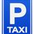 taxi · Blauw · teken · illustratie · symbool · vierkante - stockfoto © nikdoorg