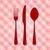 kırmızı · model · masa · örtüsü · örnek · vektör - stok fotoğraf © nikdoorg