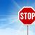 vetor · poste · de · sinalização · céu · estrada · abstrato · assinar - foto stock © nikdoorg