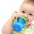 赤ちゃん · ミルク · ボトル · 幸せ · 楽しい · 肖像 - ストックフォト © nikkos