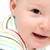 красивой · счастливым · ребенка · лице · пространстве · весело - Сток-фото © nikkos