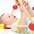 baby · giocare · giocattoli · bella · indietro · faccia - foto d'archivio © nikkos