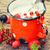 rijp · aardbei · bessen · ijs · donkere · voedsel - stockfoto © nikolaydonetsk