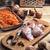 raw fillet of chicken meat stock photo © nikolaydonetsk