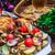 辛い · 鶏 · ジャガイモ · 脚 · プレート · 肉 - ストックフォト © nikolaydonetsk