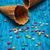 kettő · üres · waffle · kúp · fagylalt · fából · készült - stock fotó © nikolaydonetsk