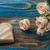 valentin · nap · rózsák · gyertya · szívek · vörös · rózsák · gyertyák - stock fotó © nikolaydonetsk