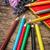 crayons · Rainbow · ciel · soleil · peinture - photo stock © nikolaydonetsk