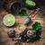 tea · főzet · citrus · menta · fából · készült · rusztikus - stock fotó © nikolaydonetsk