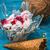 fagylalt · tál · kettő · waffle · csésze · kókusz - stock fotó © nikolaydonetsk
