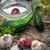 sózott · uborka · fokhagyma · fából · készült · nyár · zöld - stock fotó © nikolaydonetsk
