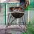珍しい · グリル · 燃焼 · 木材 · 火災 · 金属 - ストックフォト © nikolaydonetsk
