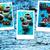 mint · thee · collage · vers · gesneden · kruidentuin - stockfoto © nikolaydonetsk