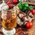 гриль · свинина · мяса · пива · чеснока · соус - Сток-фото © nikolaydonetsk