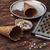 fagylalt · díszített · édes · por · ostya · fából · készült - stock fotó © nikolaydonetsk