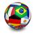 futbol · bayrak · yalıtılmış · beyaz · 3d · illustration · futbol - stok fotoğraf © nirodesign