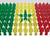 senegal flag parade stock photo © nirodesign