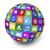 globo · ilustração · projeto · branco · internet - foto stock © nirodesign