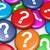 negocios · cliente · preguntas · signo · de · interrogación · símbolo · icono - foto stock © nirodesign