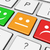 botón · cliente · feedback · icono · comentario - foto stock © nirodesign