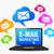 web email marketing icons stock photo © nirodesign