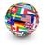 internationalen · Versandkosten · Illustration · Design · weiß · Zeichen - stock foto © nirodesign