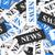 jornal · notícia · manchete · financeiro · tabela · escritório - foto stock © nirodesign