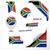 África · do · Sul · bandeira · isolado · branco · fundo · assinar - foto stock © nirodesign