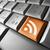 blog · rss · wiadomości · ikona · pomarańczowy · przycisk - zdjęcia stock © nirodesign
