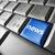 青 · 携帯 · マーケティング · ボタン · キーボード · 現代 - ストックフォト © nirodesign